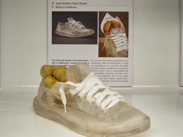 Tennis Shoe designed by José Andres & Sami Hayek