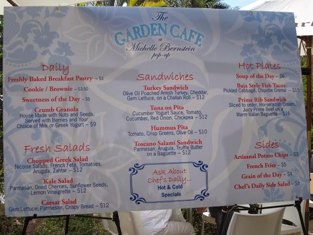 Michelle Bernstein's Garden Cafe