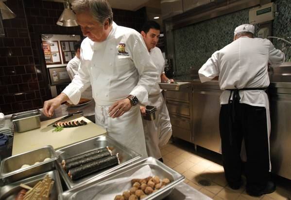 Foodable WebTV Network |  Pictured: Chef Dean Fearing and his team prepping for a catering event in his kitchen.  |  Photo Credit: DallasNews.com