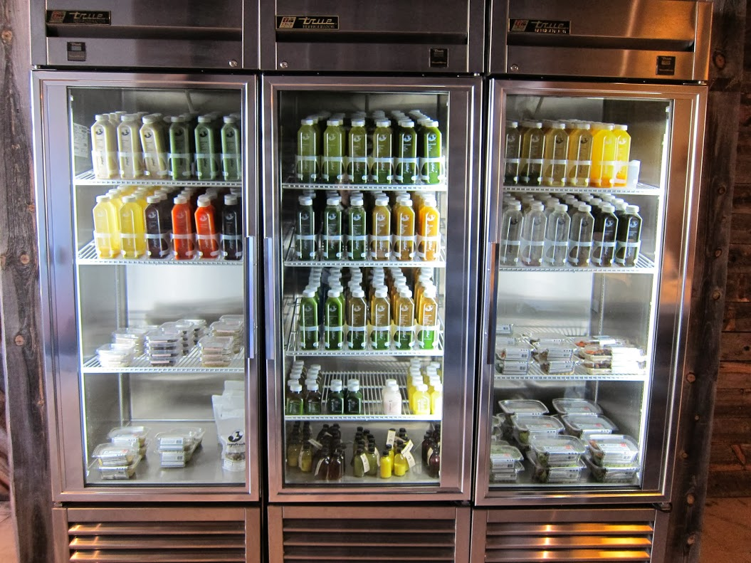 Pictured: Some Jugo Fresh offerings | Foodable WebTV Network