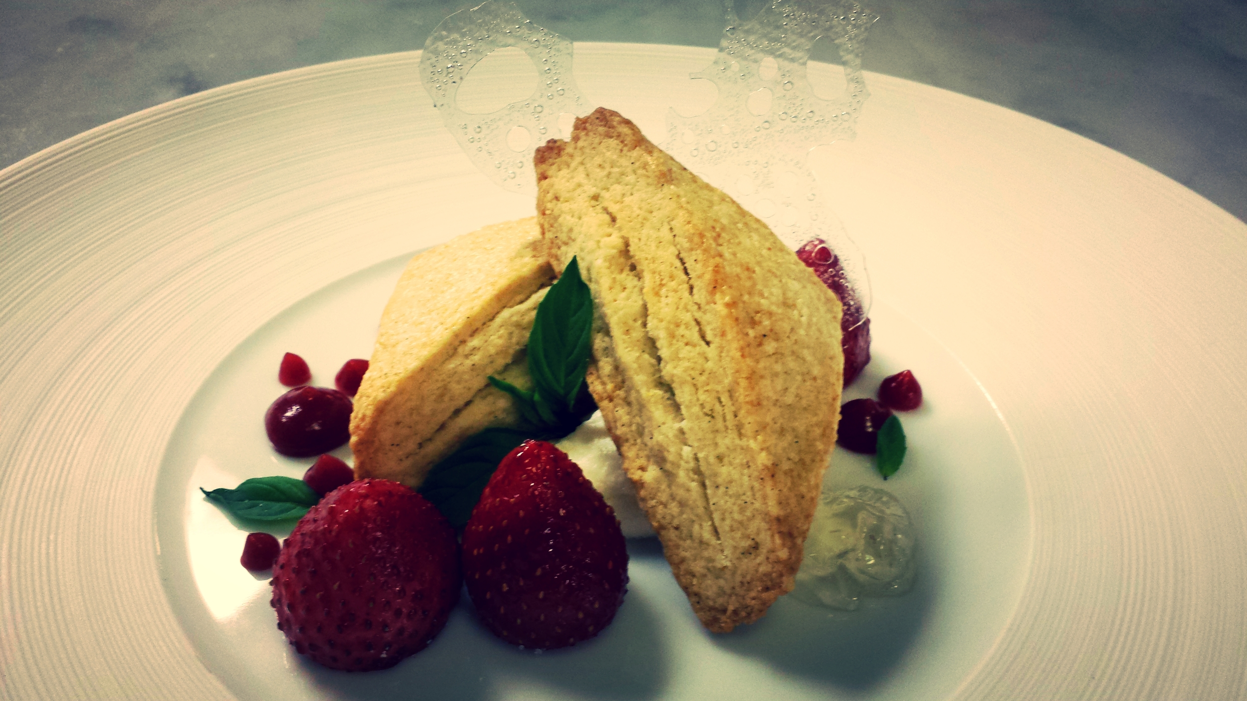 Audrey's Take on Strawberry Shortcake | Foodable WebTV Network