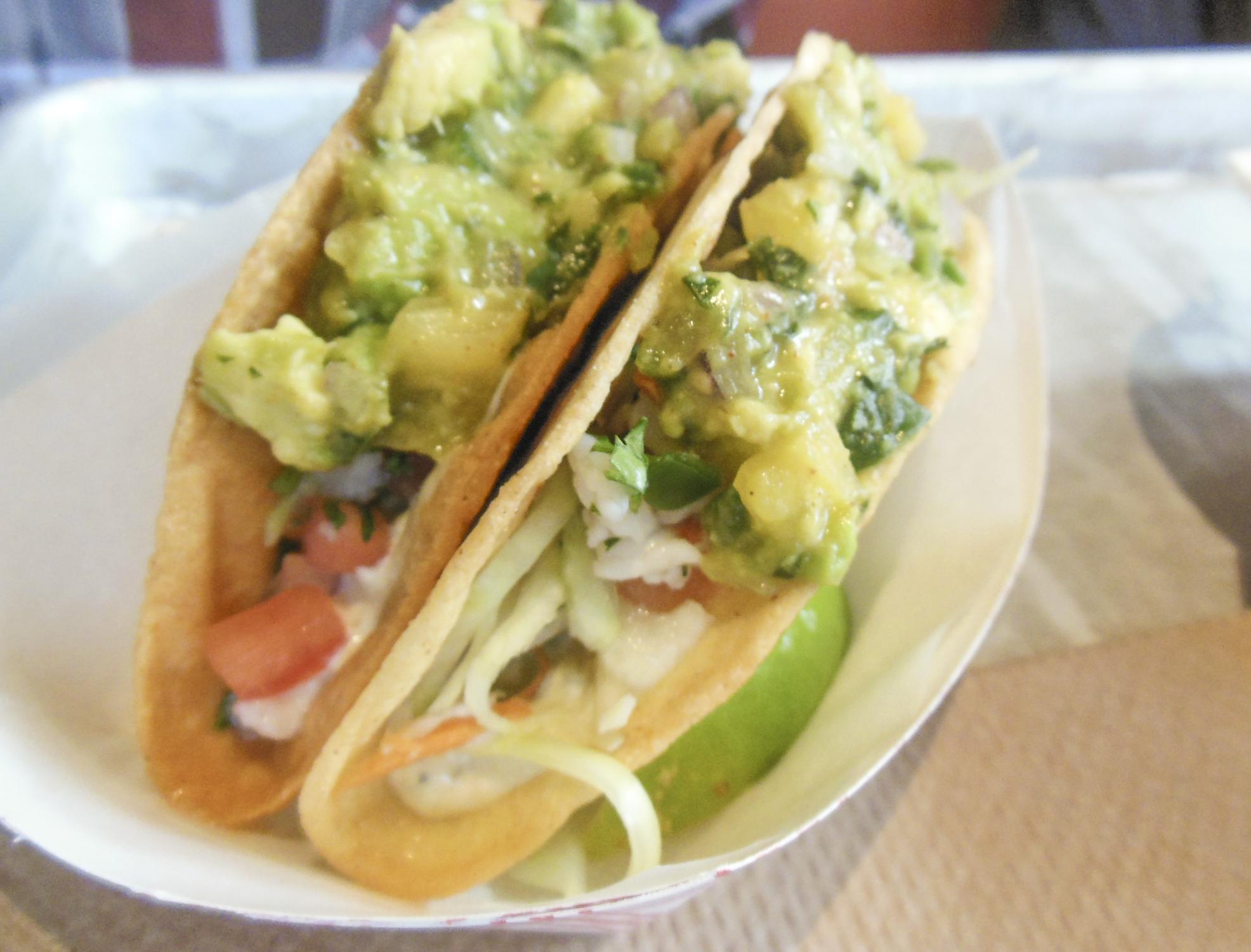 Ceviche Tacos at Genuine Roadside | Foodable WebTV Network
