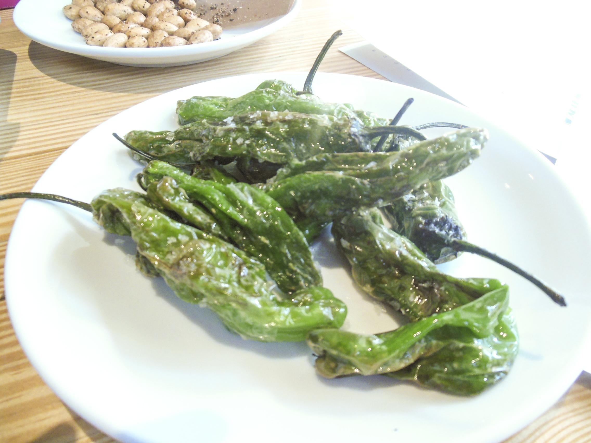 Shashito peppers at El Comado | Foodable WebTV Network