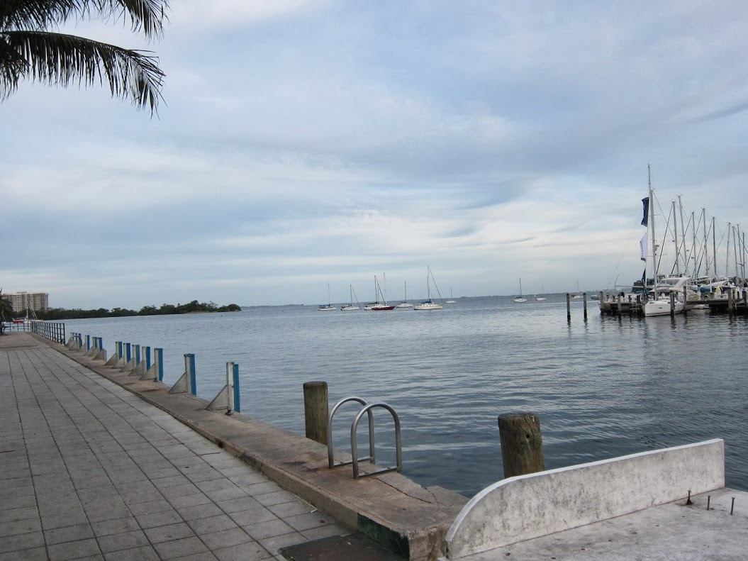 The view from Scotty's Landing, Coconut Grove