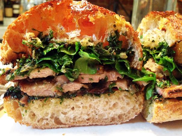 Porchetta Sandwich from Il Buco Alimentari e Vineria    Photo Credit: Amateur Gourmet