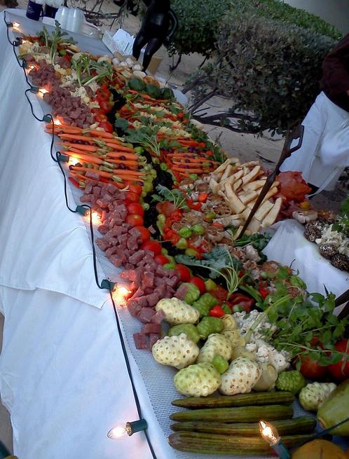 Taste of St. Croix Presentation   Photo Credit: Twitter/@DailyBlender