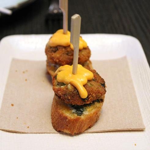 Crab Cakes from Three Seasons Restaurant and Bar   Photo Credit: Carolyn Jung/Facebook