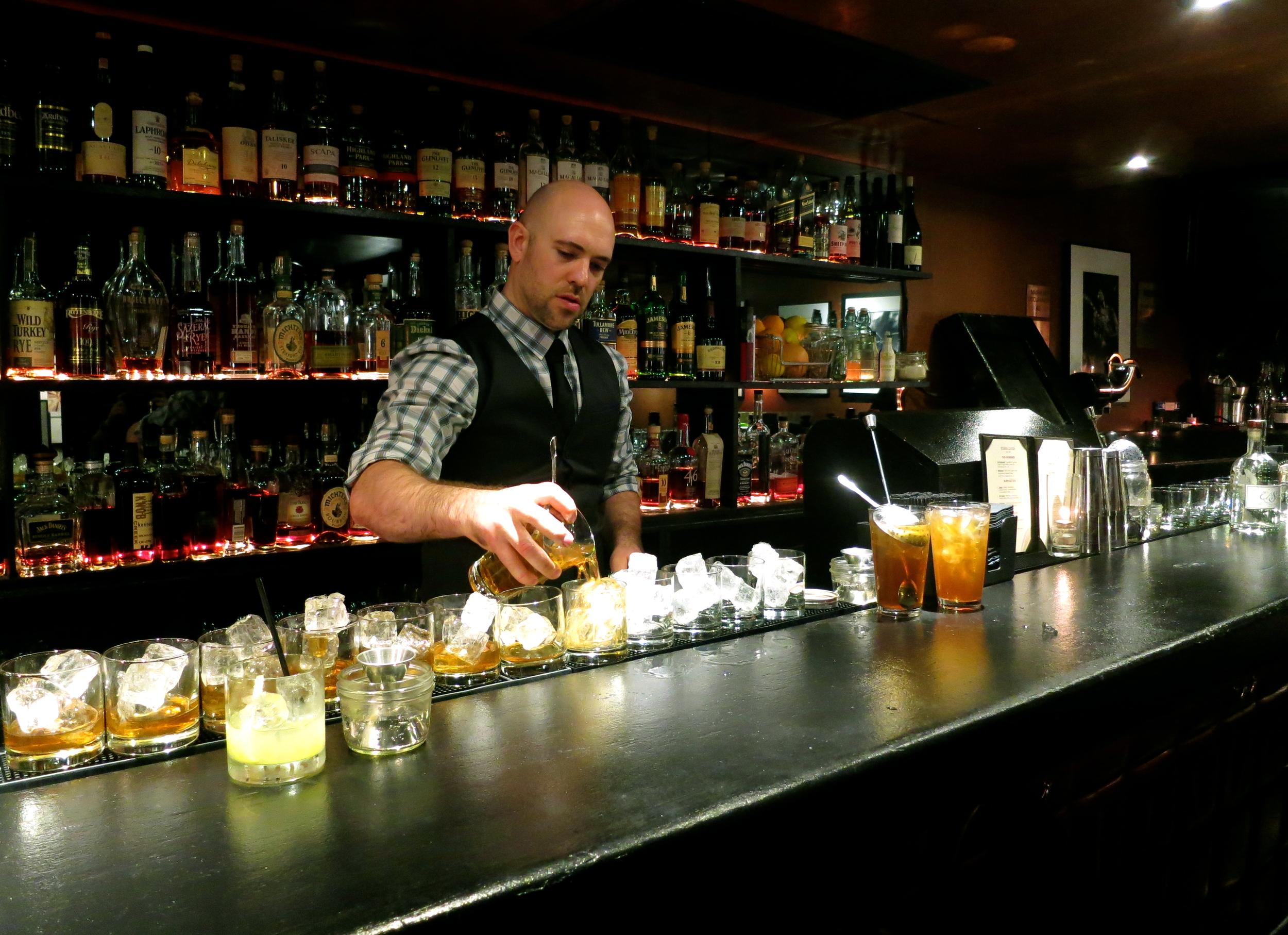Dave Whitton, Bar 1200 Whiskey Lounge