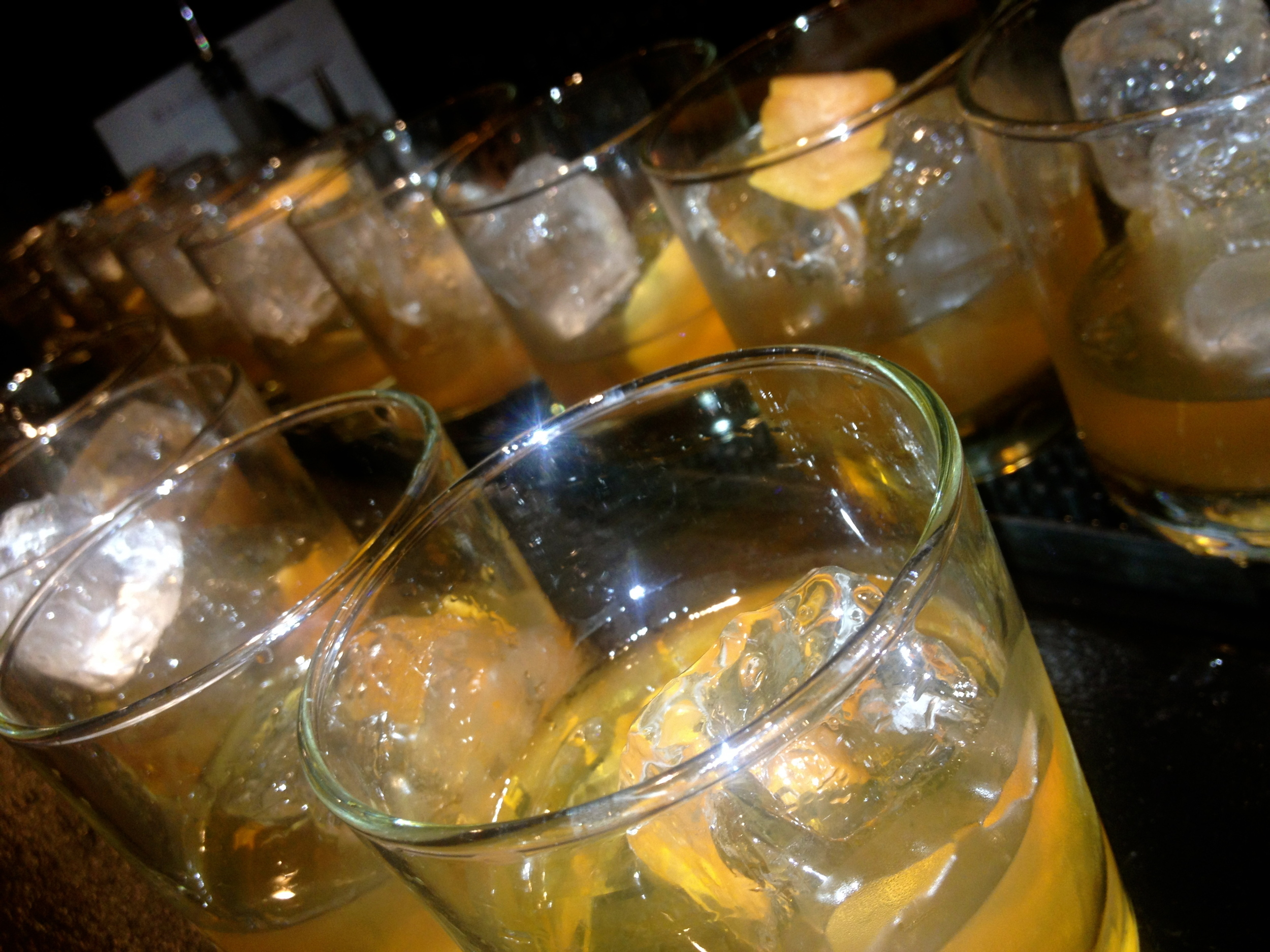 Old Fashioneds at Bar 1200