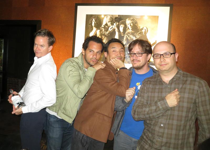 L-R: Aidan Demarest, Victor Amezcua (El Silenco Brand Ambassador), Daniel Djang, Jason Horn, Aaron Tell