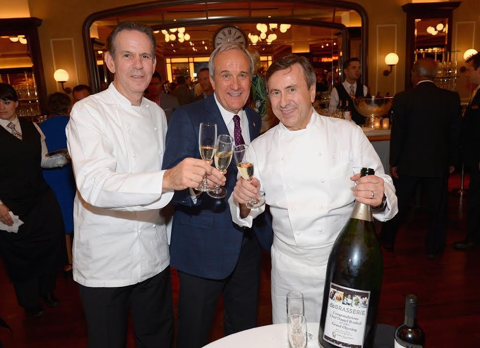 Chef Thomas Keller, Larry Ruvo and Daniel Boulud