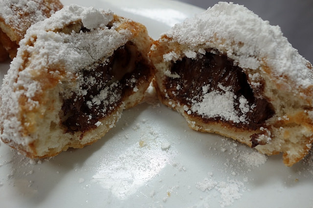 Chocolate Beignet, Brenda's French Soul Food  | Foodable WebTV Network