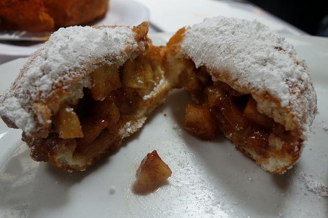Granny Smith Apple Beignet, Brenda's French Soul Food | Foodable WebTV Network