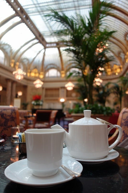 Teatime at the Palace Hotel  | Foodable WebTV Network
