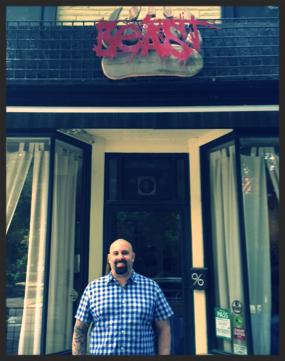 Chef Scott Vivian of Beast Restaurant in Toronto.  |Foodable WebTV Network