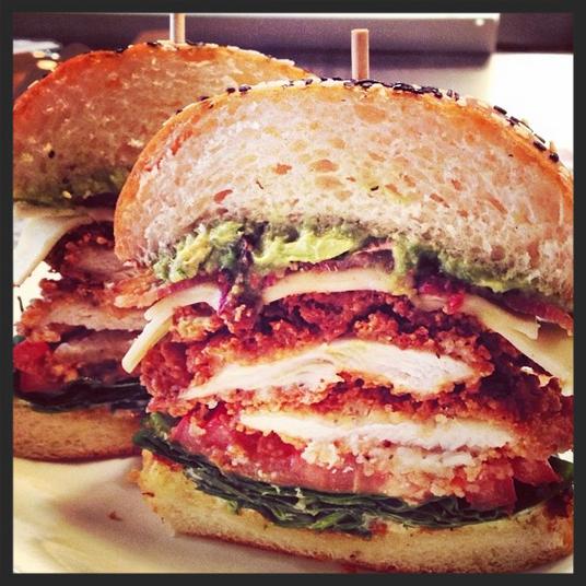 Fried Chicken & Jack Sandwich, East Hampton Sandwich Co.   Credit:  Instagram