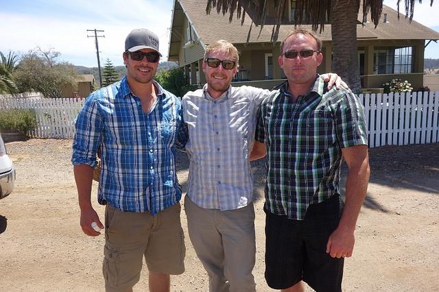 Solomon Hills Vineyards - Peter Mateus, Trey Fletcher, Chris Hammell