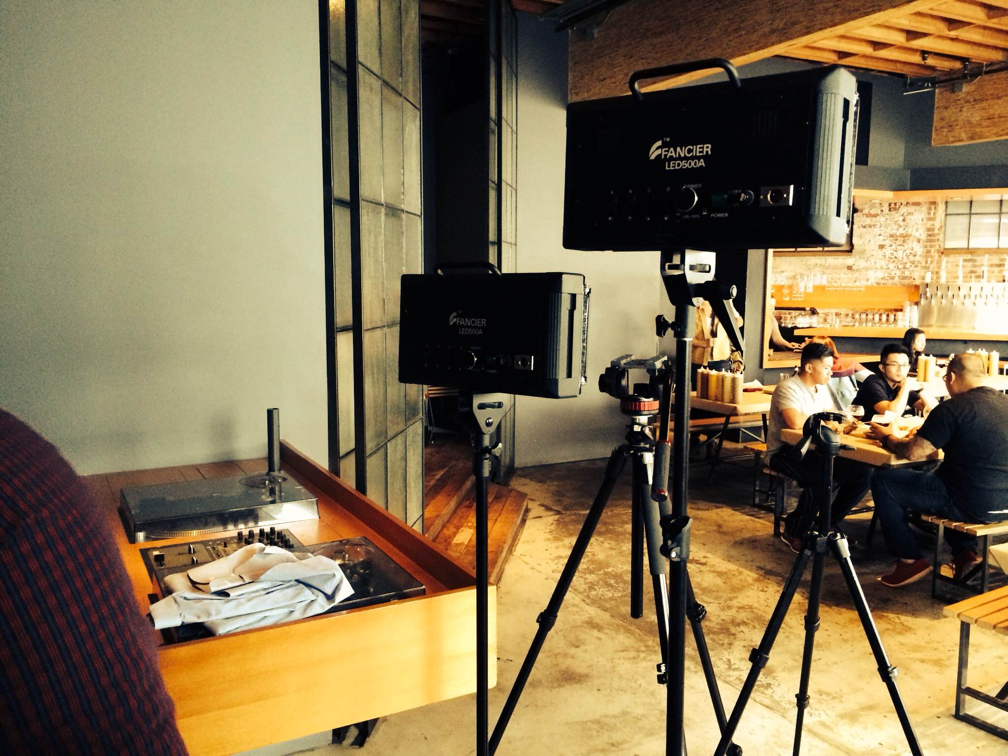 The Foodable Film Crew on Set | FOODABLE WEBTV NETWORK