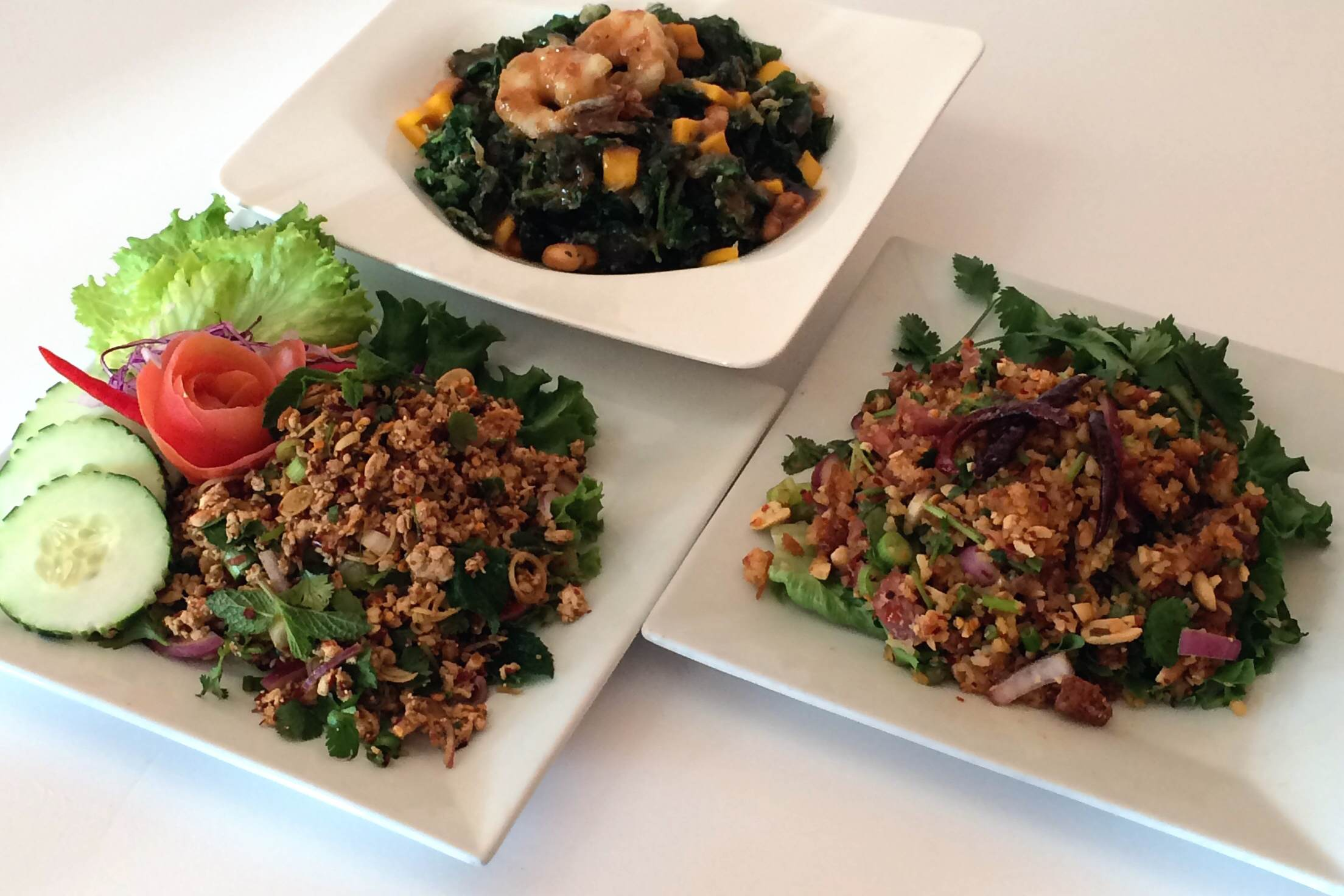 Laotian Cuisine from Bangkok Golden in D.C.  | Credit:  Deanna Kingsley