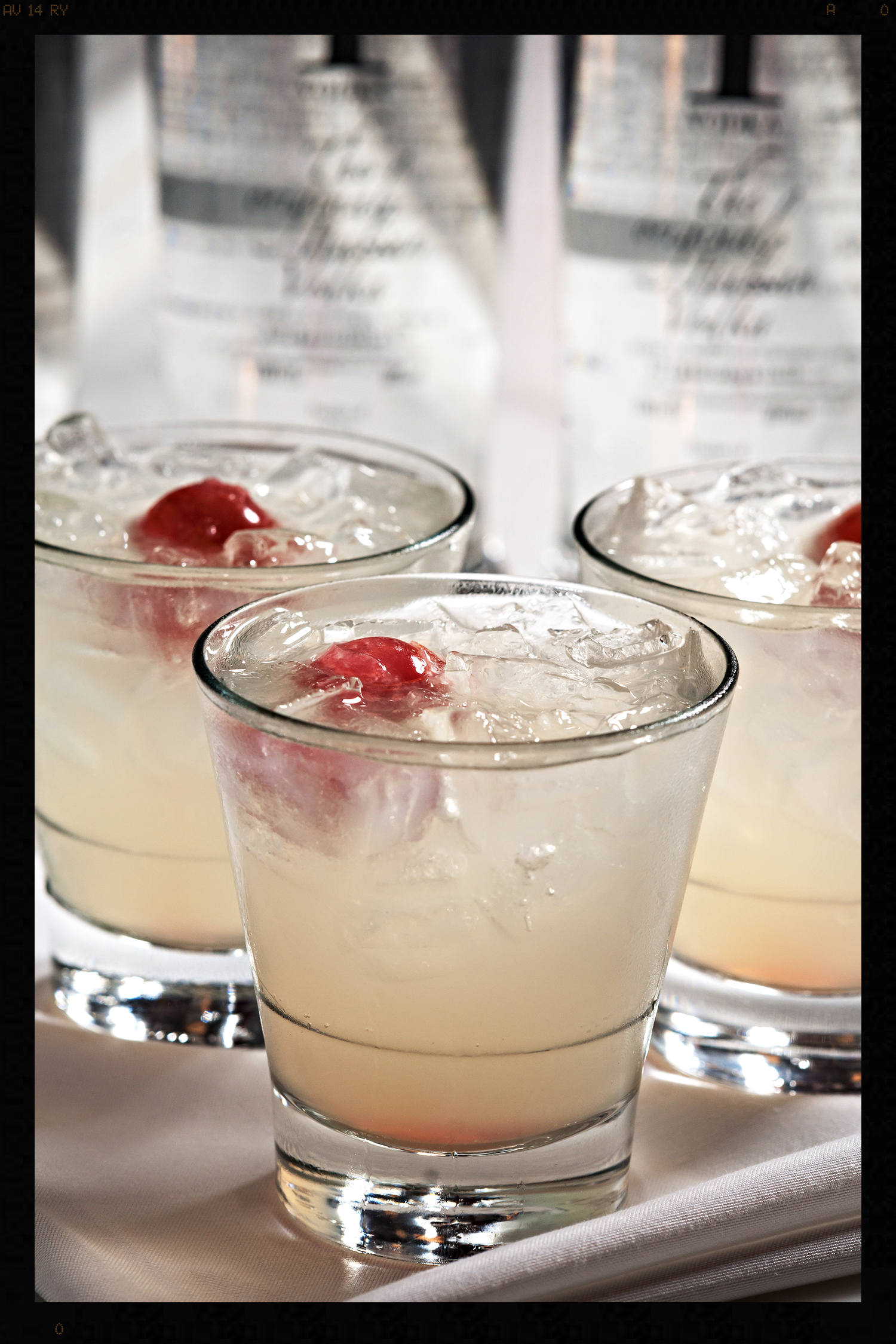 Cocktail featuring specialty ice  | FOODABLE WEBTV NETWORK