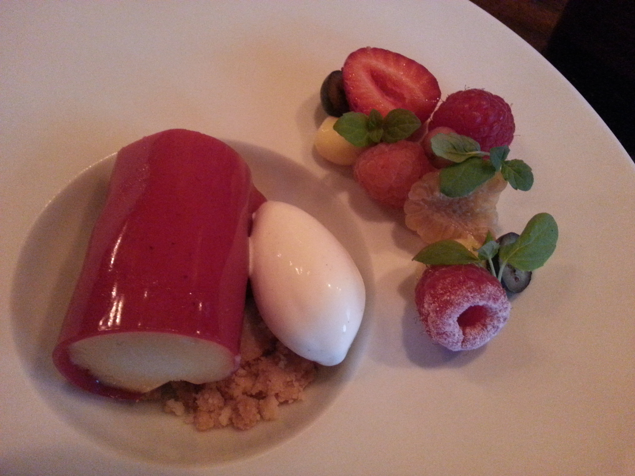 Fresh Berry Tart at Maude | FOODABLE WEBTV NETWORK