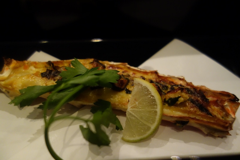 Alaskan King Crab, Shiitake Mushroom, Mitsuba at n/naka | FOODABLE WEBTV NETWORK