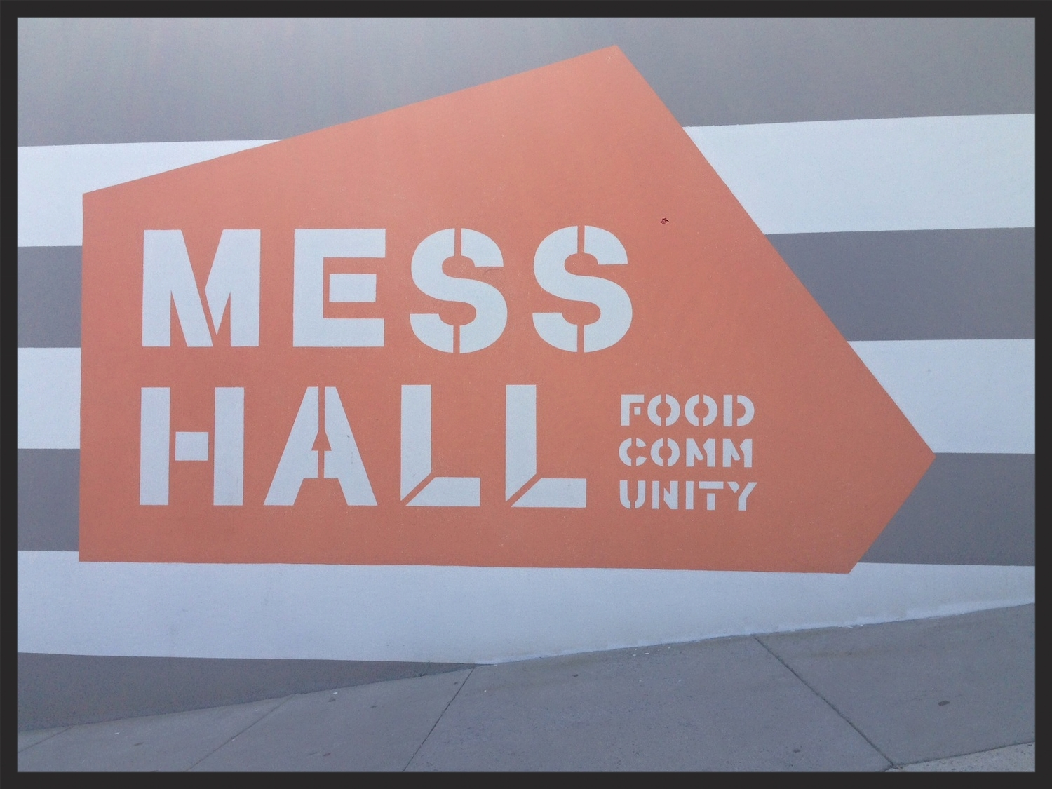 Exterior of Mess Hall in DC   FOODABLE WEBTV NETWORK