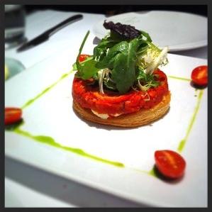 Tomato Tart at DB Bistro Moderne | CREDIT: YELP, Joe S.