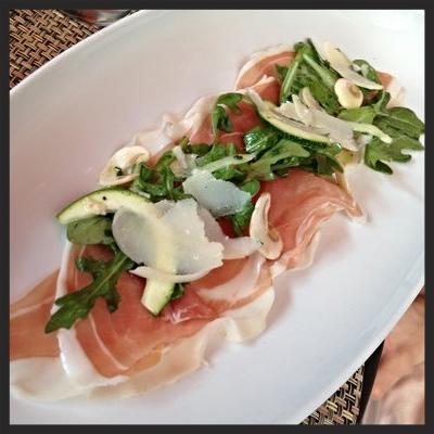 Prosciutto Appetizer at Rialto  | YELP, Kat B.