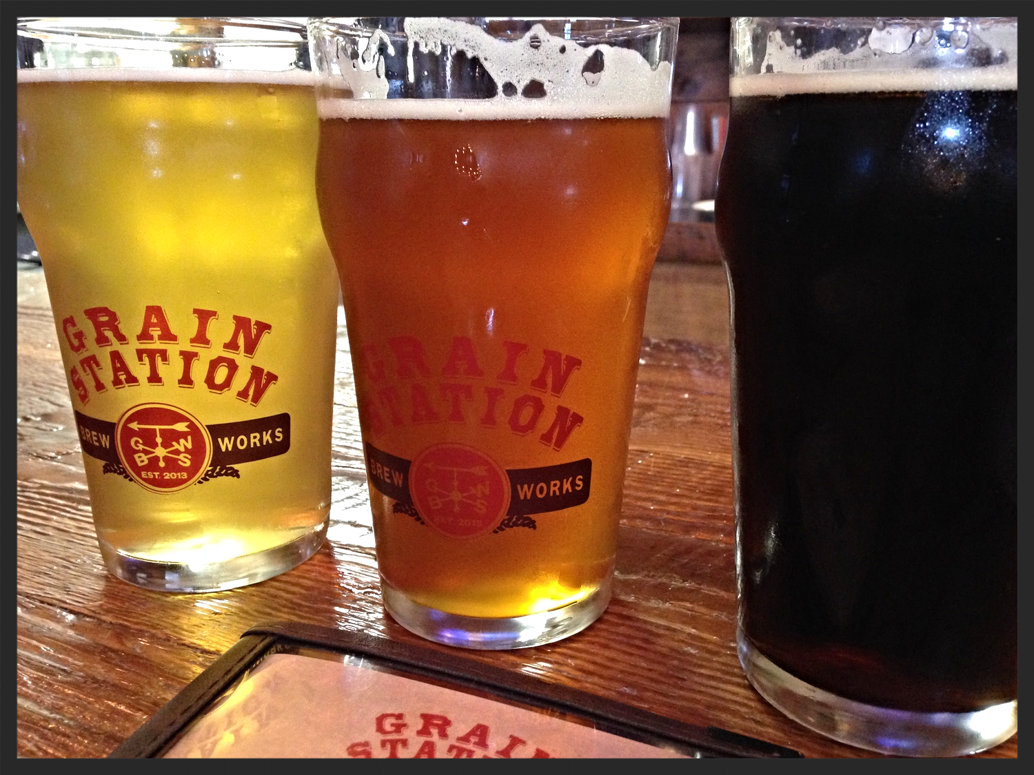 Beer at Grain Station Brew Works  | FOODABLE NETWORK