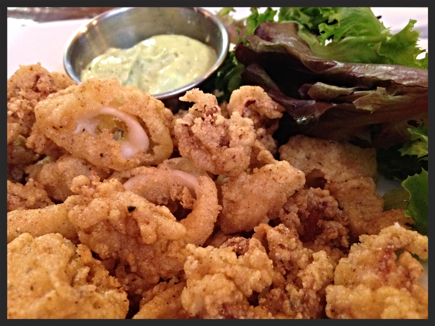 Calamari at Grain Station  | FOODABLE NETWORK
