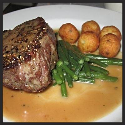 Steak au Poivre at Bistrot La Minette  | YELP, Carlo M.