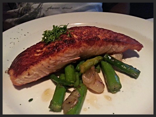 Salmon Dish at The Capital Grille | YELP