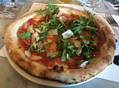 Maiale Pizza from Pizzeria Locale in Denver  | YELP, Jelle L.