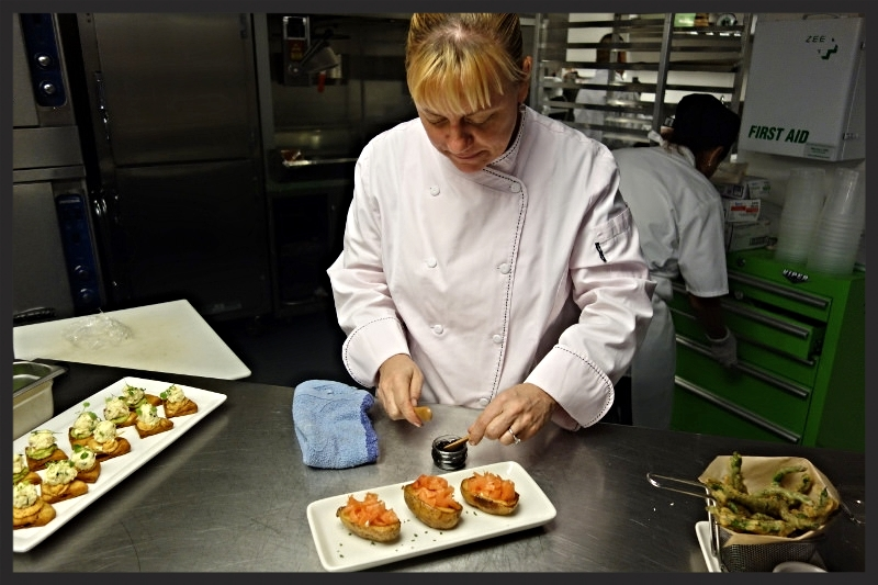 Chef Sherry Yard provides dishes    Foodable WebTV Network