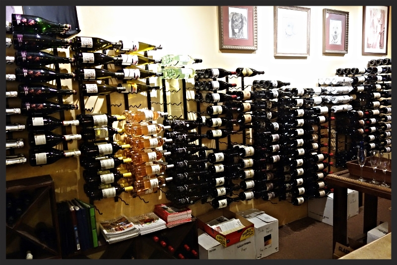 Wine Selection at the Wandering Dog Wine Bar in Solvang | Foodable Network
