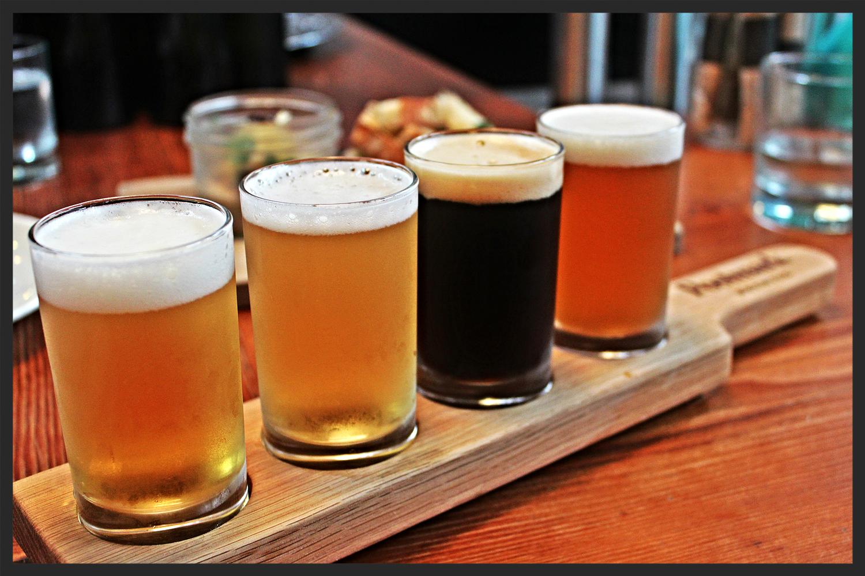 Beer Flight from Postmark Brewery | Foodable WebTV Network