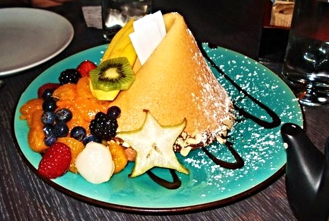 Giant Fortune Cookie Dessert at Tao Asian Bistro  | YELP, JJ S.