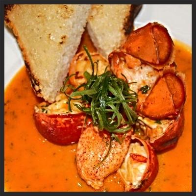 Chili Lobster at Marc Forgione  | YELP, Lori L.