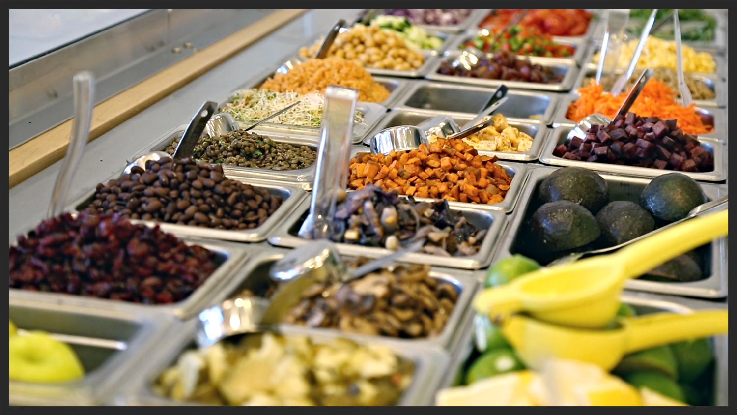 Ingredients from sweetgreen | Foodable WebTV Network