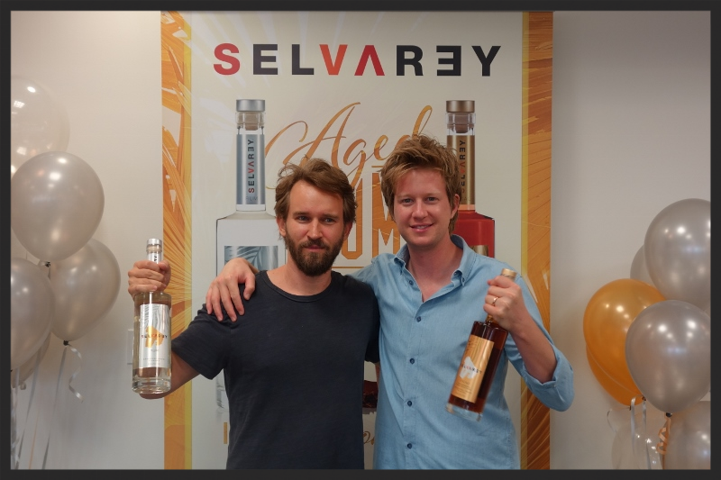 Seth Gold and Rob Herzig of Selvarey Rum  | Foodable WebTV Network
