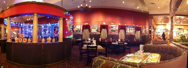 Interior of the Buca di Beppo on the strip    YELP, Mike G.