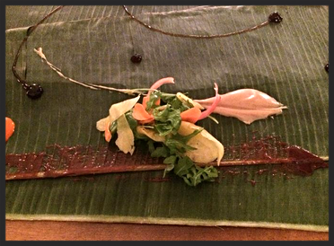 Green mango salad prepared Kamayan style  | Foodable WebTV Network