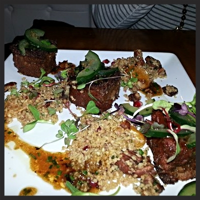 Moroccan Goat Boxes at Root | YELP, Kris U.