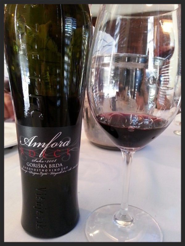 2008 Amfora Rdece (Cabernet Sauvignon & Merlot) by Erzetic  | Foodable WebTV Network