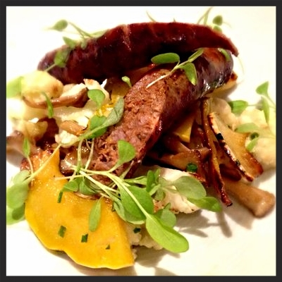 Lamb Sausage at Mistral Kitchen  | YELP, Jerome P.