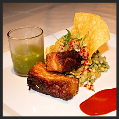 Pork Belly at Abacus  | YELP, Brian Q.