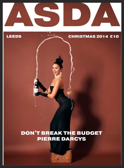 The British grocery store Asda's ad for Pierre Darcy Champagne  | Asda