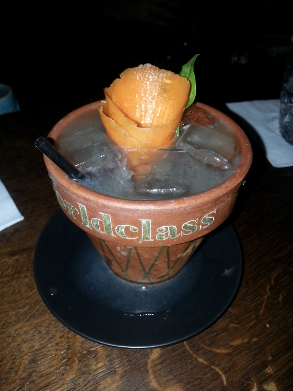 Basil Smash at Imperial Craft Cocktail Bar