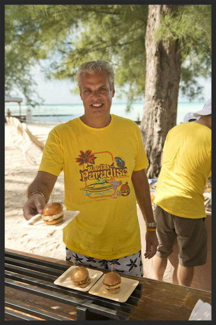 Eric Ripert Serves Lunch during the Cayman Cookout  | @CaymanCookout